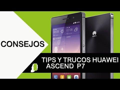 Huawei Ascend P7 Tips trucos (aumenta velocidad, rendimiento y batería)