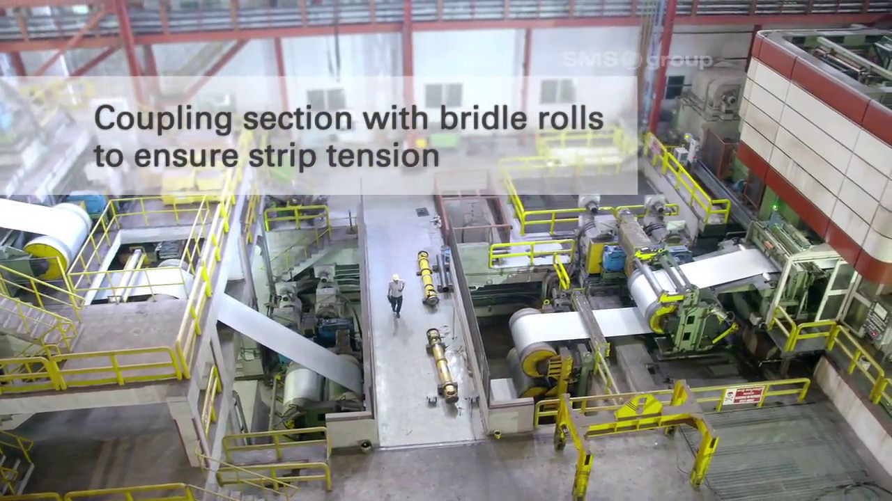 SMS group - Cold rolling - Pickling Line Tandem Cold Mill of JSW Steel Ltd