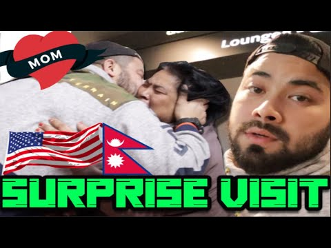 VISITING PARENTS AFTER 8 YEARS   EMOTIONAL VIDEO  SURPRISE VISIT NEPAL