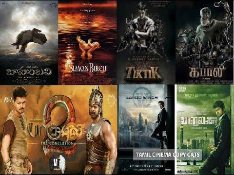 Tamil copycat movie posters.......