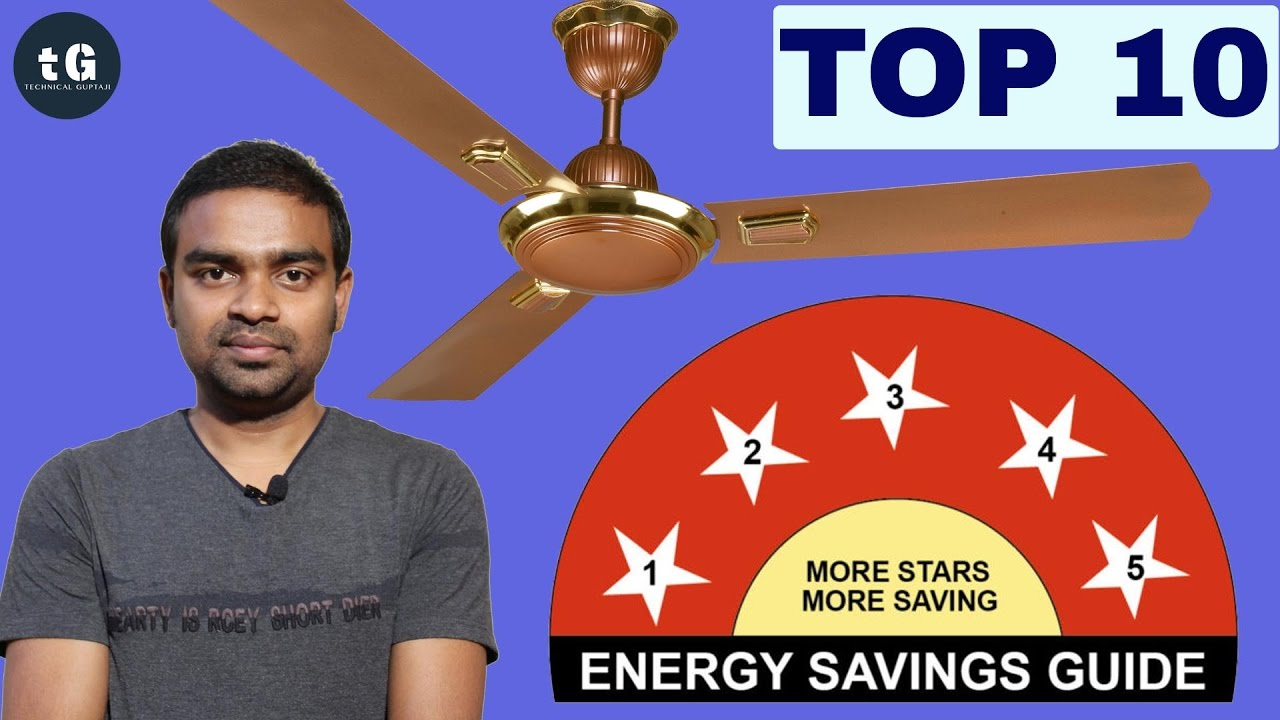 Top 10 Ceiling Fans In India By Electricity Consumption And Size 2017 Fan