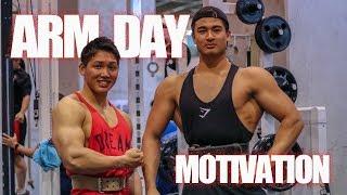 【筋トレ】腕トレモチベーションビデオ!!-ARM DAY Motivation-