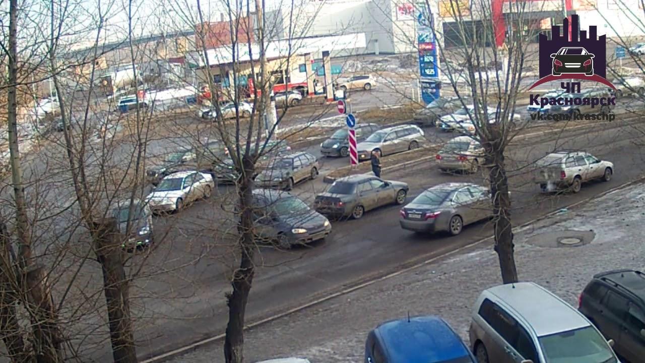 Сибирский переулок 21.03.2018 ЧП Красноярск