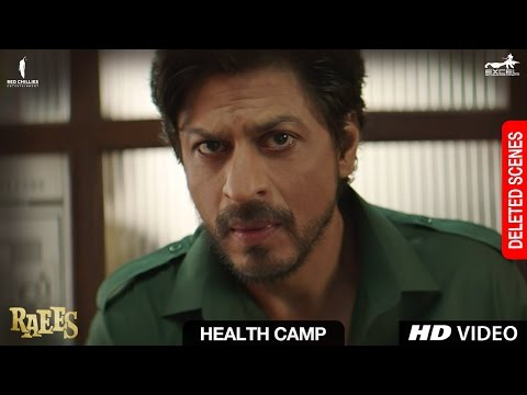 Raees | Health Camp | Deleted Scene | Shah...