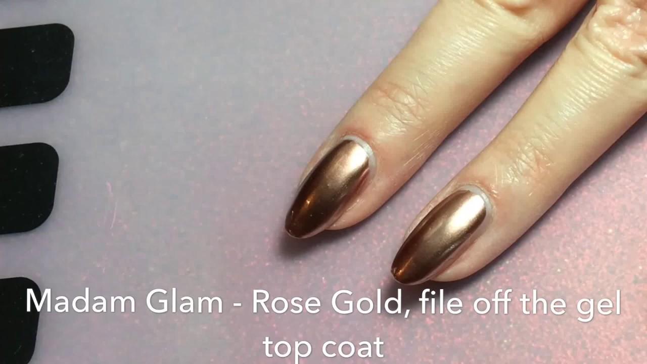 How To Soak Off Metallic Gel Polish