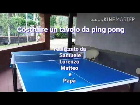 Costruire un tavolo da ping pong youtube - Costruire tavolo ping pong ...