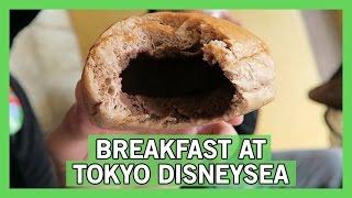Breakfast at Tokyo DisneySea