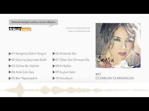 Cansu - Olsan Da Olmasan Da (Official Audio)