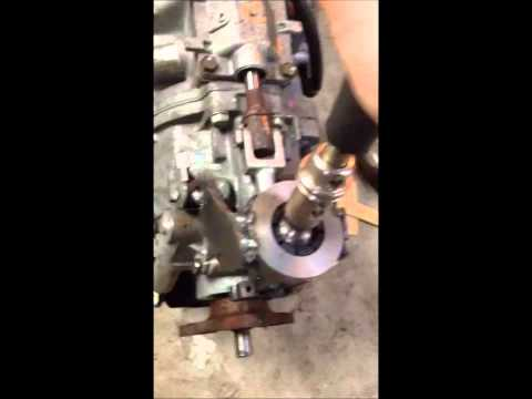 1995 BMW E36 LS3 TR6060 Shifter Relocation