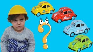 Yusuf'un Arabasını Kim Sakladı?? Learn Colors with Cars.