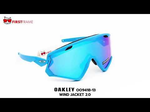 70ecf3627da92 OAKLEY OO9418-13 WIND JACKET 2.0 - YouTube