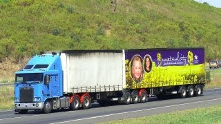 Australian Trucks : Trucking on the Hume Highway Part 4  Sat 10/03/13