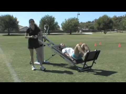 Sports Specific Total Gym Exercise  Golf Day