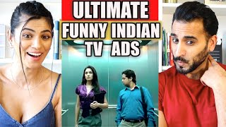 ULTIMATE FUNNY INDIAN TV Ads REACTION | REVIEW!
