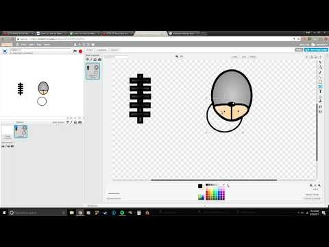 Scratch tutorial, how to make a FNAF character in Scratch!