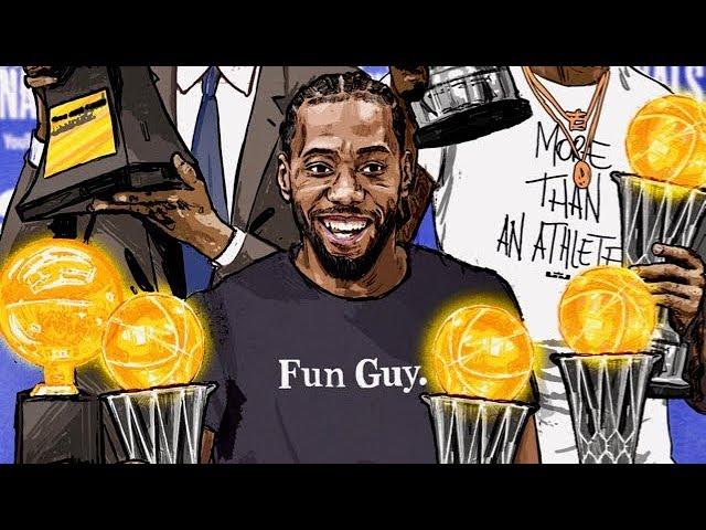 Kawhi Leonard NBA Finals Mix (Best Plays from 2019 NBA Finals)