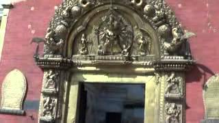 The Golden Gate of Bhaktapur Raj Darbar | Kathmandu, Nepal - HD
