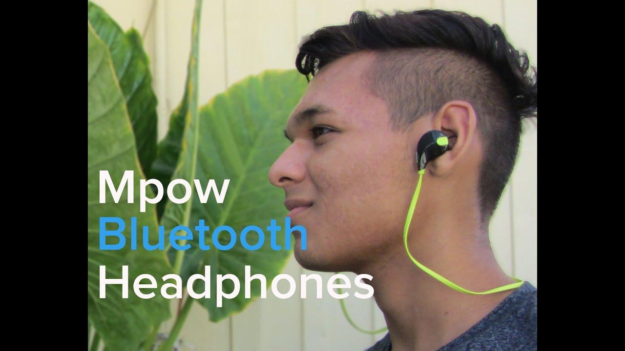Bluetooth Headphones Mpow Swift Bluetooth 4.0 Wireless Sport Headphones a56d4f12cc15
