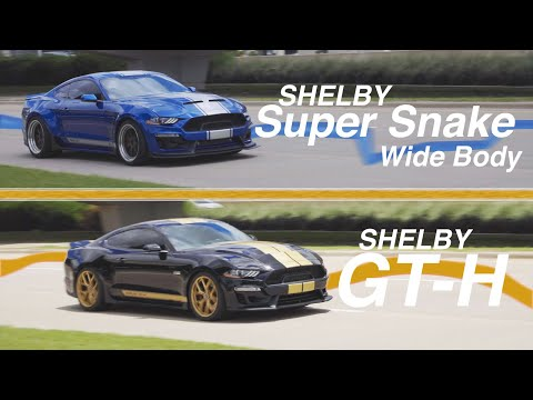 Shelby American - Driving the GT-H and Super Snake!