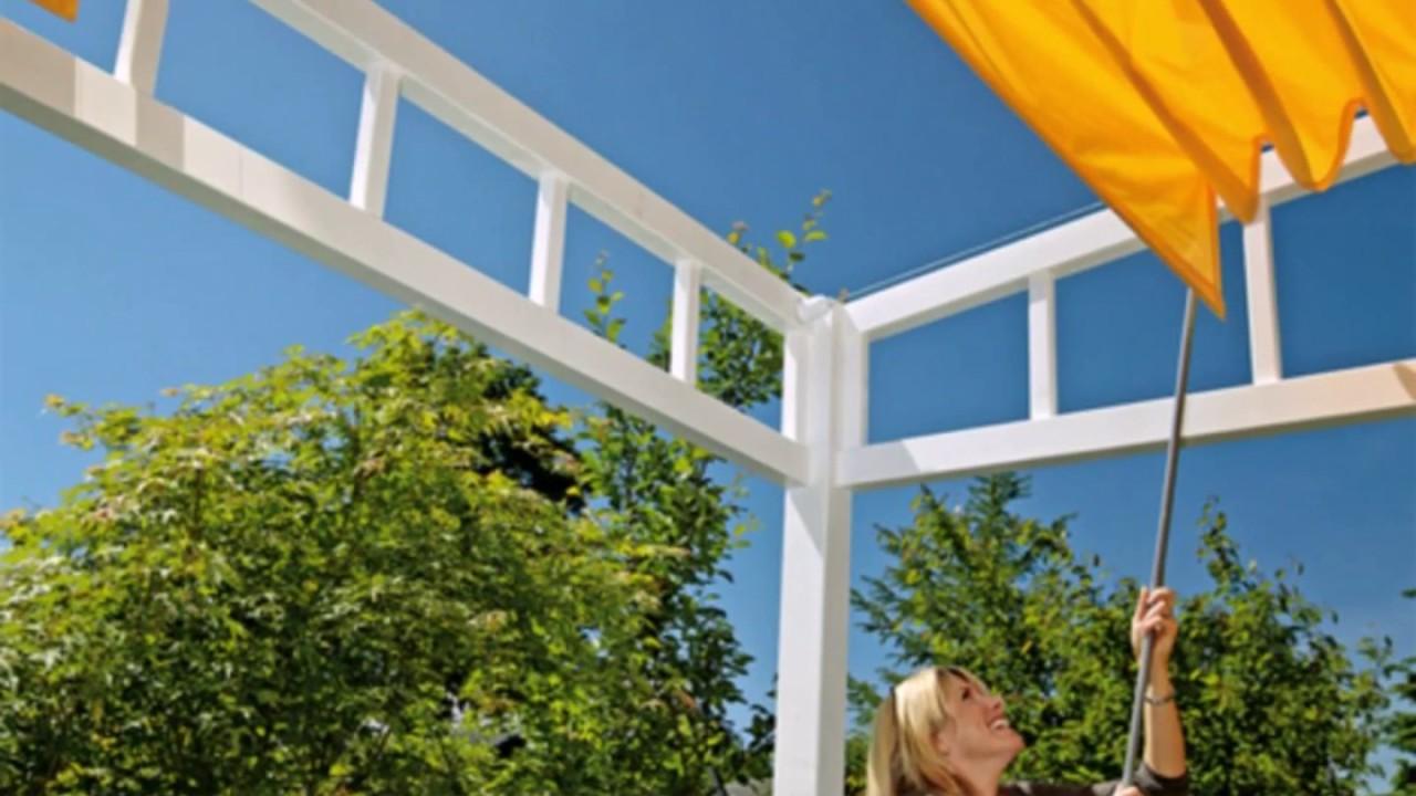 sonnenschutz balkon ideen youtube. Black Bedroom Furniture Sets. Home Design Ideas