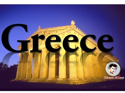 Traveling video in Greece | Beautiful places travel world or earth #022