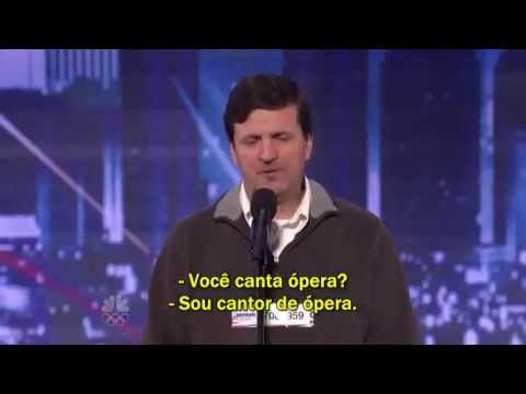 Luiz Meneghin — Brasileiro emociona público e jurado no America's Got Talent  (legendado) TRAVEL_VIDEO