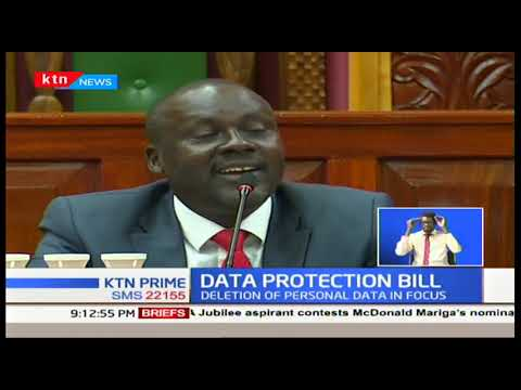 Data protection bill: Should the data protection bill provide for the deletion of captured at childhood?