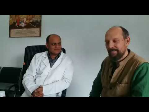Dr. Vikram Chauhan recommending Khabir as an Ayurveda practitioner and trainer.