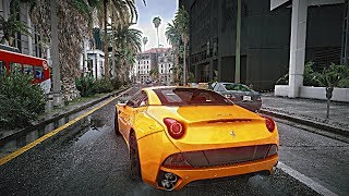 GTA 5 Ultra Settings 4k 60FPS on a $10,000 Custom Gaming PC! NaturalVision Realistic Graphics Mod!