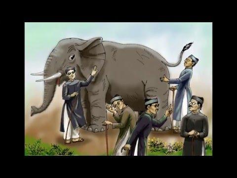 Thầy bói xem voi