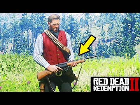 FREE* RAREST SHOTGUN IN RED DEAD REDEMPTION 2 , SEMI-AUTO SHOTGUN LOCATION HOW TO