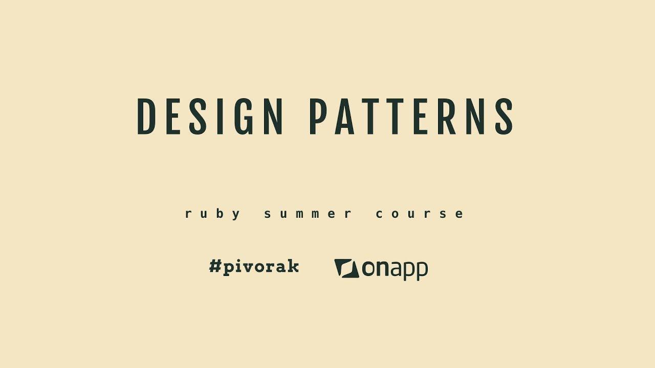 Ruby Design Patterns Interesting Decorating Ideas