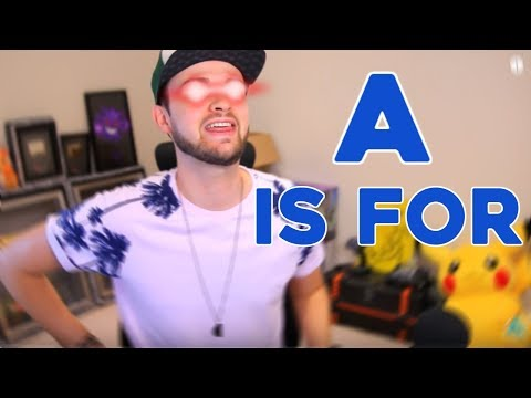 Learn The Alphabet With Fortnite