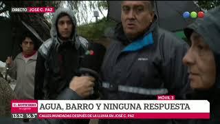 La lluvia sin fin: el padecimiento en un barrio de José C. Paz