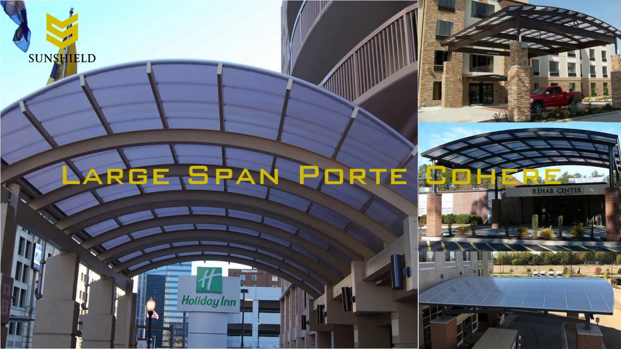How to solve the large span shade ? - YouTube