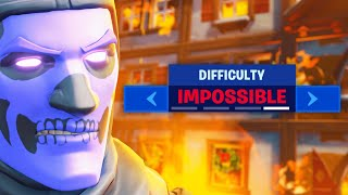 "fortnite on ""IMPOSSIBLE MODE"""