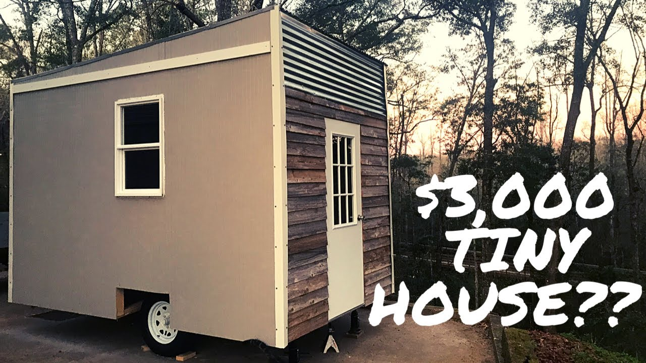 3k Tiny House Time Lapse 1 Of 3 Youtube