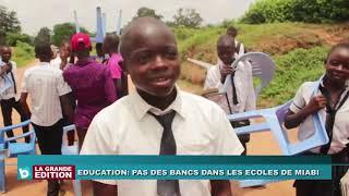 Pas de bancs dans les écoles de Miabi, dans le Kasaï Oriental