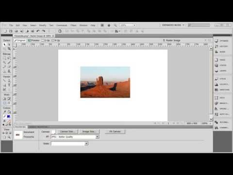 Tutorial: Adobe Fireworks CS5 for Beginners Lesson 1