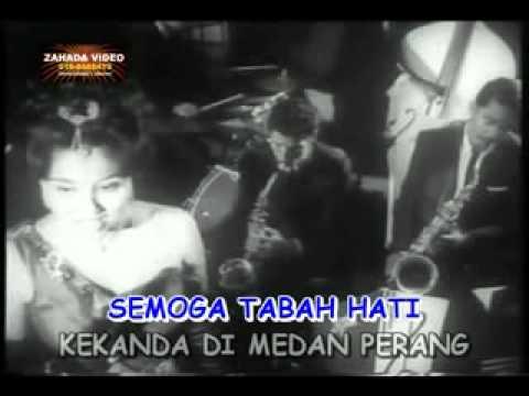 "PERWIRA (Full Karaoke) nyanyian SALOMA versi filem ""Masam Masam Manis"" (1965)"
