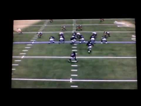 Madden 13: My Career Mode - Ray Rice trips over Vonta Leach