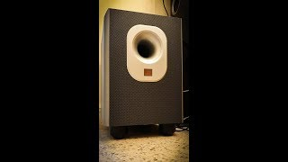 JBL SUB 200/230 Powered Subwoofer Bass Test