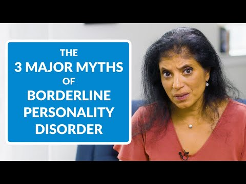 The 3 Major Misconceptions Of Borderline Personality Disorder