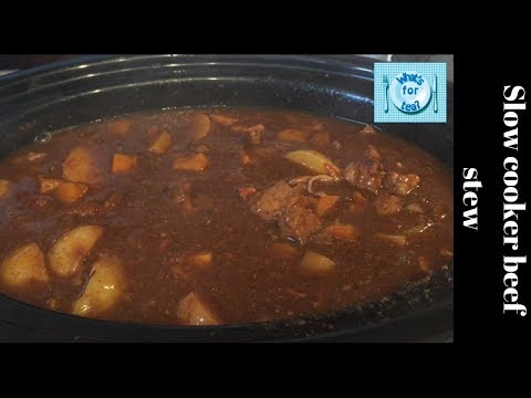 Absolutely Delicious Slow Cooker Beef Stew 😋 Recipe & Cook With Me!
