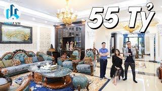 Khám Phá Biệt Thự Tân Cổ Điển CỰC KÌ ĐẲNG CẤP trị giá 55 Tỷ tại Vinhomes Riverside - NhaF [SALE]