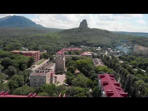 Горы Бештау, Медовая, Железная, Развалка со стороны санатория Дубрава