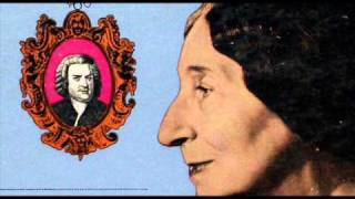 Bach / Wanda Landowska, 1949: Prelude and Fugue No. 4 in C sharp minor, BWV 849 - WTC, Book I