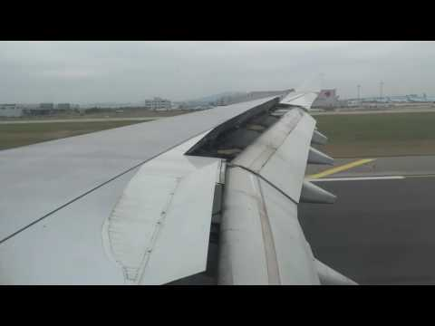 Cathay Pacific Airways   A330-300   landing at Seoul Incheon ICN HD