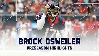 Every Brock Osweiler Throw from Week 3 | Cardinals vs. Texans | NFL