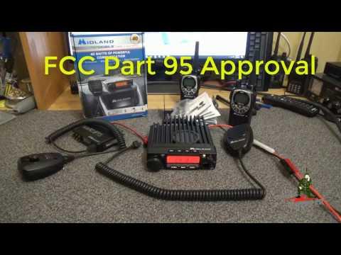Midland MXT400 40 Watt GMRS Mobile Radio - YouTube